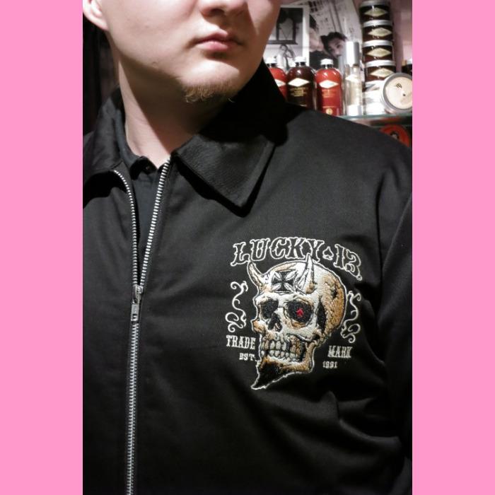 Details about  /Lucky 13 Booze Bikes /& Broads Zip Hoodie Black