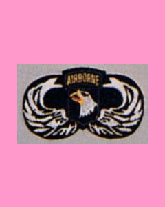 101st Airborne Parawing Patch