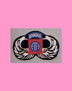 82nd Airborne Parawing Patch