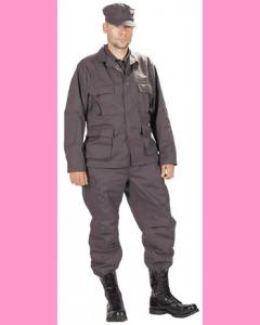 BDU Jacket, Black (SWAT)