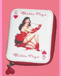 Bettie Page Hearts Wallet
