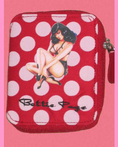 Bettie Page Red Polka Dot Wallet