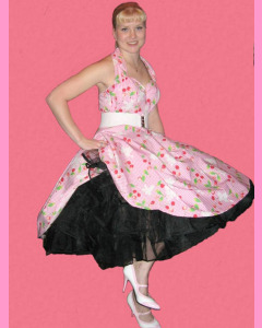 Black 25 Inch Petticoat