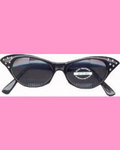 Black Cat's Eye Glasses