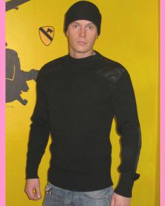 Black Commando Sweater