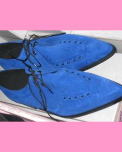 Blue Suede Winkle-Pickers