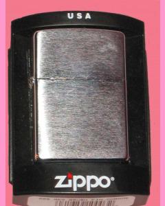 Brushed Chrome Zippo