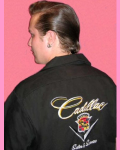 Cadillac Work Shirt. Back embroidery