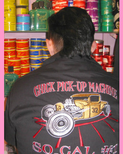 Chick Pick-Up Machine Work Shirt