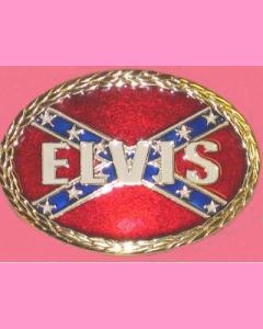Confederate Elvis Buckle