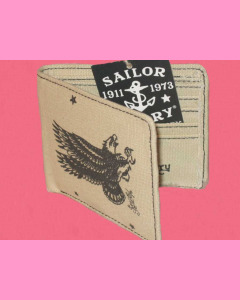 Eagle Canvas Bifold Wallet