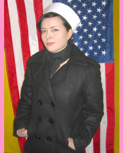 Ladies U.S. Navy Pea Coat
