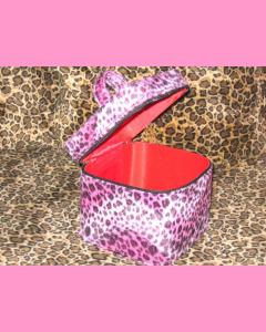 Pink Leopard Dice Bag