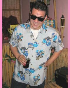 Light Blue Brando Shirt