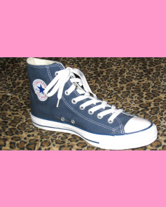 Navy Converse All Star Hi