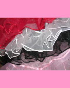 White 25 Inch Petticoat