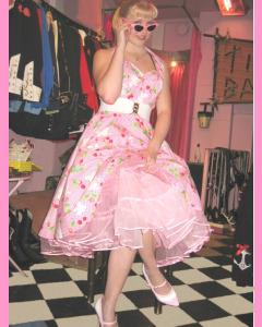 Pink 25 Inch Petticoat