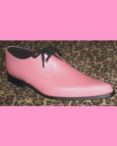 Pink Patent Leather Winkle-Pickers