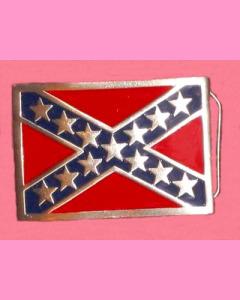 Rebel Flag Buckle