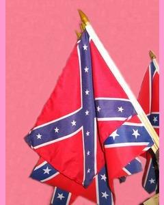 Rebel Table Flag