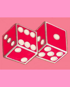 Red Dices Buckle