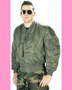 Sage green MA-1 Flight Jacket