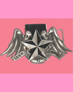 Star Wings Buckle with a lighter