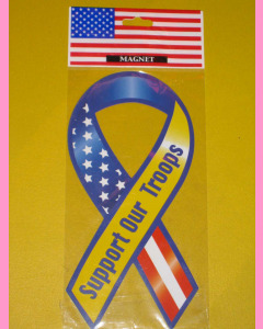 Support Out Troops Ribbon Magnet