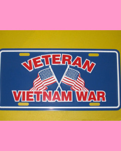 Vietnam Veteran Licence Plate