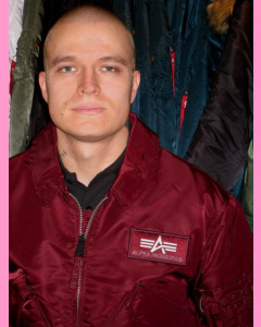 Maroon CWU-45 Flight Jacket