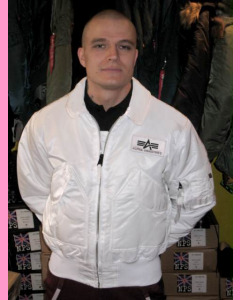 White CWU-45 Flight Jacket