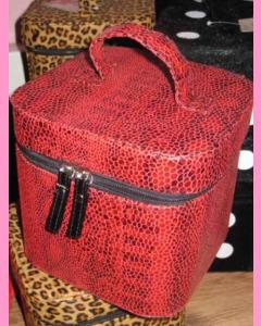 Red Snake Dice Bag
