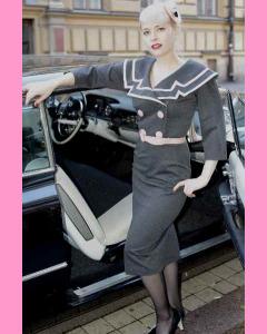 Bettie Page Ashley Pencil Dress