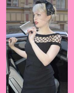 Black Bettie Page Alika Pencil Dress