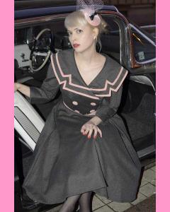 Bettie Page Ashley Circle Dress