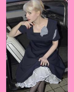 Bettie Page Big Bow Circle Dress