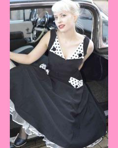 Bettie Page Brigit Circle Dress