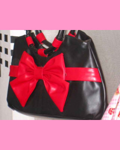 Black and red Bow Blac