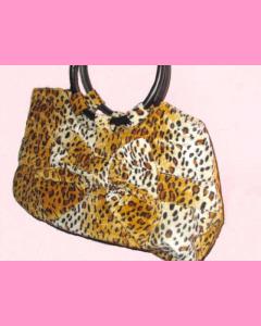 Leopard Bow Bag