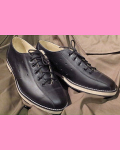 Black leather Bowling Shoes