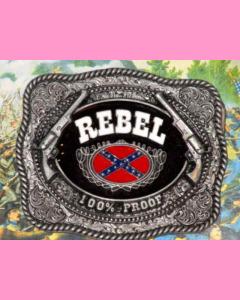 Rebel 100 % Proof Buckle