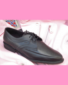 Black leather Buddy shoes