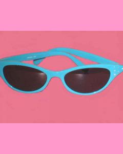 Turquoise Cat´s Eye Glasses