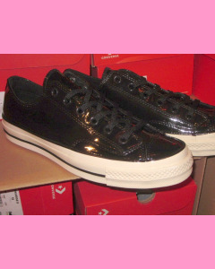 Black Patent Leather 70´s All Star Ox Converse