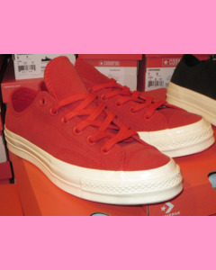 Enamel Red Converse 70`s All Star Ox