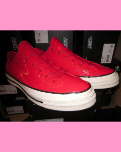 Red Patent Leather 70´s All Star Ox Converse