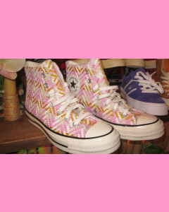 Herringbone Converse 70´s All Star Hi Chucks