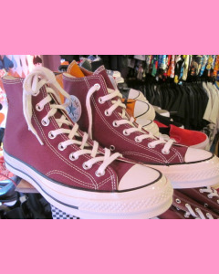 Dark Burgundy 70´s All Star Hi Converse