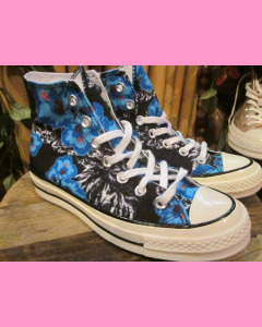 Blue and Pink Flowers Converse 70´s All Star Hi