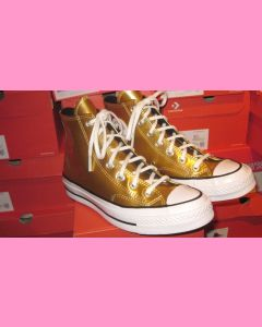 Golden Converse 70's Hi